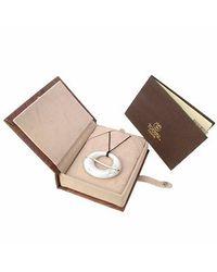 Torrini - White Pietrasanta Marble Diamonds 18k Gold Pendant - Lyst