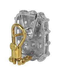 Torrini - Wallstreet Collection - 18k White Gold Diamond Earrings - Lyst