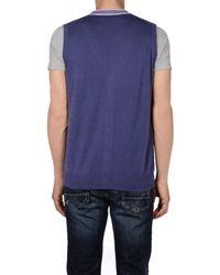 Ballantyne - Blue Cashmere Sweaters for Men - Lyst
