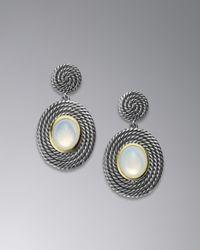 David Yurman | Metallic Cable Coil Earrings | Lyst