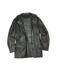 FORZIERI - Men's Black Leather Jacket for Men - Lyst