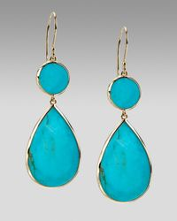Ippolita | Blue Two-drop Earrings | Lyst