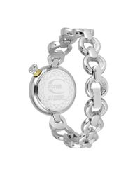 Just Cavalli - Lily - Black Reptile Link Watch - Lyst