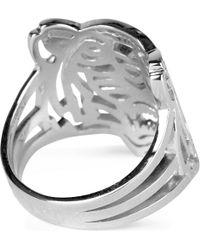 KENZO - Metallic Tiger Ring - Lyst