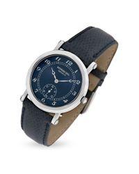 Raymond Weil - Blue Lizard Stamped Stainless Steel Dress Watch - Lyst