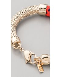 Orly Genger By Jaclyn Mayer - Orange Crosby Cast Rope Bracelet - Lyst