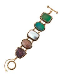 Stephen Dweck | Multicolor Five-station Multi-stone Bracelet | Lyst