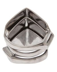 Vivienne Westwood - Metallic Knuckle Duster Ring - Lyst