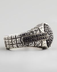 Stephen Webster - Metallic Pave Black Sapphire Ring - Lyst
