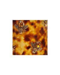 Alexander McQueen - Metallic Plexi Tortoiseshell Bee Cuff - Lyst