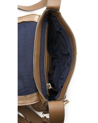 Pour La Victoire - Brown Nina Mini Saddle Bag - Lyst