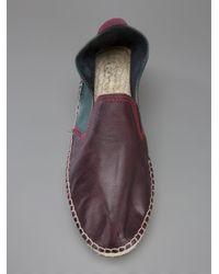 Prism - Multicolor Leather Espadrille - Lyst