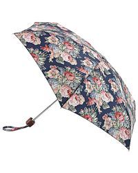 Cath Kidston - Blue Bouquet Tiny Umbrella - Lyst