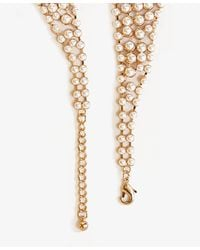 Forever 21 - Natural Pearlescent Peter Pan Collar Necklace - Lyst