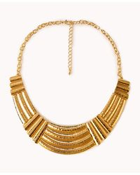 Forever 21 | Metallic Opulent Pastel Necklace | Lyst
