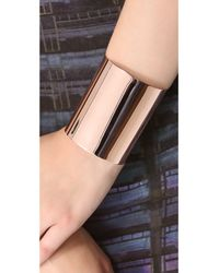 Kristen Elspeth - Metallic Large Cuff Bracelet - Lyst