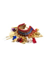 Venessa Arizaga - Metallic Forgive and Forget Charm Bracelet - Lyst