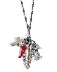 Venessa Arizaga - Blue The 'crossing' Necklace - Lyst