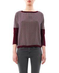 Weekend by Maxmara | Red Tenore Sweater | Lyst