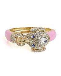 BaubleBar - Pink Queen Celeste Elephant Bangle - Lyst