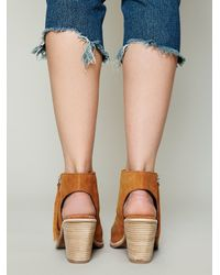 Free People - Brown Hartley Ankle Boot - Lyst