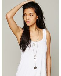 Free People - White Double Layer Rosary - Lyst