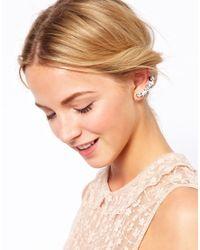 ASOS - Multicolor Jewel Earcuff Pack - Lyst