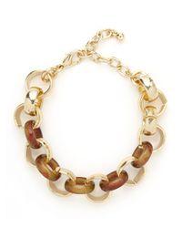 BaubleBar - Metallic Midas Tortoise Bracelet - Lyst