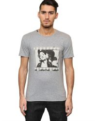Dolce & Gabbana | White Mosaic Bullfight Cotton T-shirt for Men | Lyst