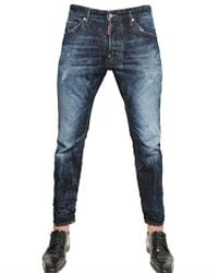 DSquared² | Blue 16cm Cotton Picker Cool Guy Denim Jeans for Men | Lyst