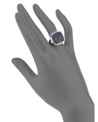 John Hardy - Metallic Sapphire Sterling Silver Ring - Lyst