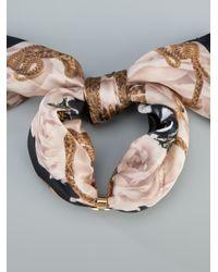 Philipp Plein - Multicolor Skull Wrap Around Bracelet - Lyst