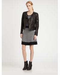 Rag & Bone - Black Clare Leather Jacket - Lyst