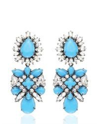 Shourouk | Blue Blondi Brandeis Earrings | Lyst