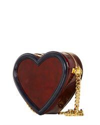 Stella McCartney - Brown Brushed Faux Leather Shoulder Bag - Lyst