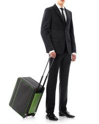 Valextra - Black Kevlarprint Avietta Suitcase for Men - Lyst