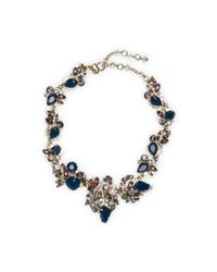 Club Monaco | Blue Erickson Beamon Navy Necklace | Lyst