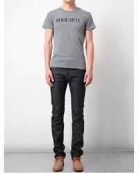Rodarte | Gray Rohearte Motif Cotton Blend T-shirt for Men | Lyst