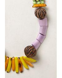 Anthropologie - Black Tagua Talisman Necklace - Lyst