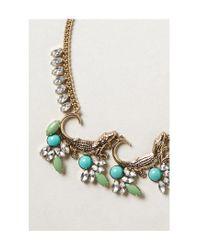 Anthropologie | Metallic Fringed Soleil Necklace | Lyst