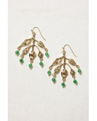 Anthropologie | Metallic Dew Drop Earrings | Lyst