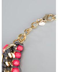 Marina Fossati - Pink Beaded Statement Necklace - Lyst