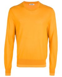 Acne Studios | Yellow Adam Pullover for Men | Lyst