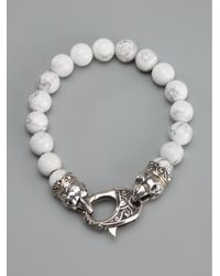 Stephen Webster - White Beaded Bracelet - Lyst