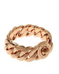 Marc By Marc Jacobs | Metallic Katie Turnlock Bracelet | Lyst