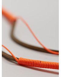 Lanvin | Multicolor Mens Simple Long Necklace for Men | Lyst