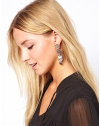 Kenneth Jay Lane | Metallic Disc Drop Earrings | Lyst