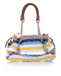 M Missoni | Multicolor Bouclé Knit Cross Body Bag | Lyst
