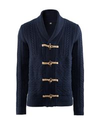 H&M | Blue Cardigan for Men | Lyst