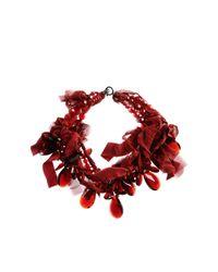 Peachoo + Krejberg | Red Necklaces | Lyst
